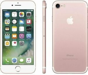 Apple iPhone 7 A1660 GSM Smartphone Rose Gold / 128GB / Unlocked
