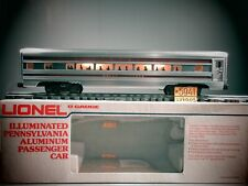 LIONEL 9572 PENNSYLVANIA  ILLUMINAT ALUMINUM   PASSENGER CAR MOLLY PITCHER C-8