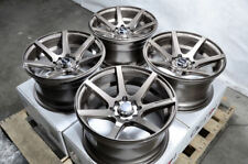 15x8 Wheels Integra Civic Accord Cobalt Mirage Galant Lancer Bronze Rims 4 Lugs