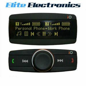 iO PLAY2 BLUETOOTH HANDSFREE KIT CAR MUSIC STREAMING OLED SCREEN IPOD IPHONE