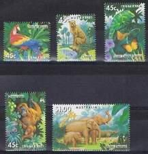 Australië postfris 1994 MNH 1428-1432 - Endagered Spedies