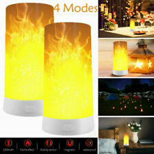 2 Pack LED Flame Effect Simulated Nature Fire Light Bulb E27 Decoration Lamp