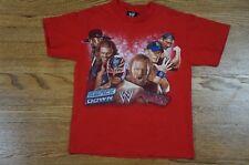 Rare Vintage WWE Smackdown Raw Graphic Tee Cena Undertaker Rey Triple H Small S