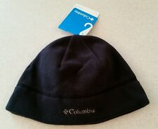 Columbia Fast Trek Fleece Hat BLACK S/M Beanie WINTER Unisex SMALL MED #145915