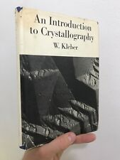 An Introduction to Crystallography W Kleber 1970 Hardcover Veb Verlag Tehnik