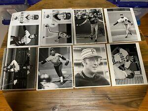 Kent Tekulve 8x10 press photos (13) The Sporting News Pirates Phillies
