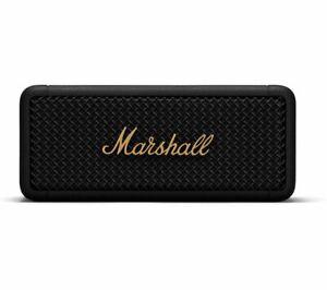 MARSHALL Emberton Portable Wireless Bluetooth Speaker Waterproof Black & Brass