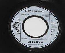 "James Last - Barry + The Giants - PROMO 7"" Single - Mr. Giant'Man - Polydor"