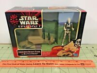 Star Wars Episode I Armored Scout Tank with Battle Droid, Sealed, FREE ship