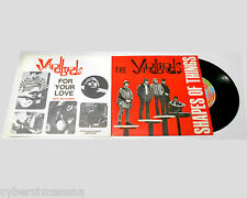 YARDBIRDS shapes of things + for your love , due 45 giri peace & love 1999