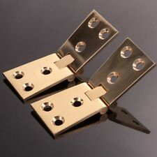 Solid Brass Counter-flap Hinges in Pair 32mm Quality Tapered Counter Top Open