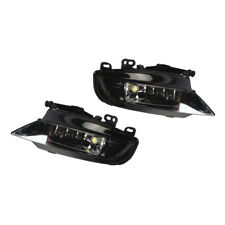 Pair Front Bumper LED Foglight Fog Light Lamp Fit AUDI A3 2013-2016 Saloon L+ R