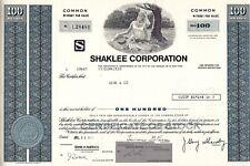 Shaklee Corporation, California, 1977 (100 Shares)
