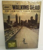 The Walking Dead The Complete First Season AMC DVD 2-Disc Set 292 Minutes