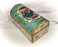 Vintage Chocolate Box/Cardboard-Terrys Treasure Chest-Advertising/Tin/Sweets