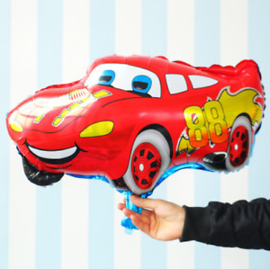 Huge Disney Cars Foil Balloon McQueen Birthday Party Decoration Helium or Air