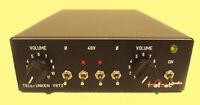 Telefunken Dual Micpre V672 Lunchbox * phantom power* phase rev.* gain ext. PSU