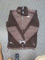 The North Face Girls Brown Denali Fleece Jacket Size XL 18