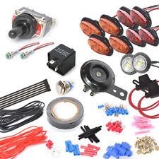 UNIVERSAL STREET LEGAL TURN-SIGNAL & LED LIGHT KIT w/HORN For ATV SXS GOLF CART