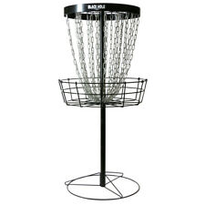 MVP Disc Sports Black Hole Pro 24 Chain Portable Disc Golf Basket Target