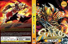 Garo: The Animation ~ Hono no Kokuin (Vol.1 - 25 End) ~ 2-DVD ~ Eng Sub ~ Anime