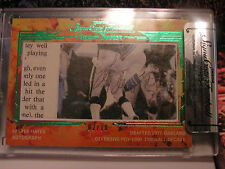 Signa cuts signed 2014 lester hayes from the raiders #688 of 1800 -#2 of 10 card