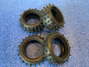 Tamiya Avante 2011 & Egress Front & Rear Tyres Tires 19804545 & 19805536
