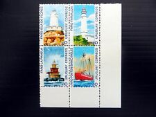 URUGUAY 2004 Light Houses Se-tenant Block of 4 SEE BELOW NB94