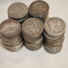 1878-1904 Morgan Silver Dollar Culls Pre-1921 All Mix Dates Lot of 100 Coins