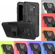 For SAMSUNG GALAXY Phone Case Heavy Duty Armor Slim Hard Tough Rubber Silicon