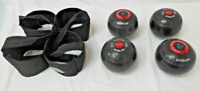Almark sterling bowls size 0M set of four with carry bag Used but in good order