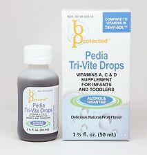 Pedia Tri-Vite Infant and Toddler Vitamin 50mL - compares to Tri Vi Sol