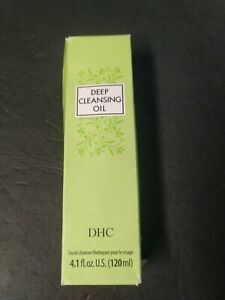 DHC DEEP Cleansing Oil Facial Cleancer 4.1 oz Makeup Remover New