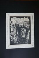 "Charles E. Willilams Jr. Pencil-Signed Lithograph entitled ""St. Anthony"""