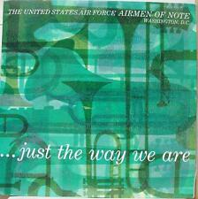 U.S. Airforce Airmen Of Note - Just The Way We Are LP Mint- Navy 41463 Promo