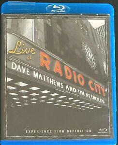 Dave Matthews & Tim Reynolds Live at Radio City Blu-ray Disc Region A