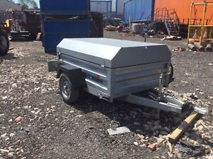 used indespension trailers