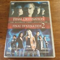 The Ultimate Final Destination 1 + 2 DVD R4 Like New! FREE POST