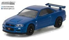 Greenlight 1:64 Tokyo Torque 2002 Nissan Skyling GT-R R34 Bayside Blue
