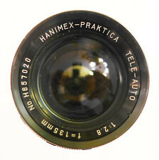 Hanimex Praktica M42 135mm F2.8, +UV filter, front&rear caps Excellent condition