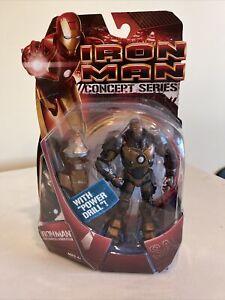 Marvel Iron Man Concept Series - Iron Man Subterranean Armor (With Power Drill)