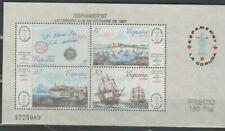 """Espagne, Espana, Bloc de timbres """" Bateaux """" neuf MNH, bien"""