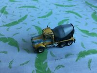 vintage Matchbox toy Car - Peterbilt Cement Truck 1981