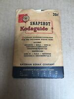 Vintage Kodak Snapshot Kodaguide Exposure Calculator PLUS Film Guides ~ NICE !!