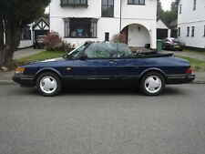 1992 Saab 900 S Turbo Convertible - Le Mans Blue & Long MOT