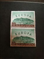 Europa 1961 paire san MARIN 523   Neuf ** sans charniere  cote 80 euros