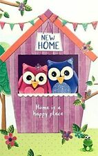 New Home Greeting Card Cute Home is a Happy Place Best Wishes