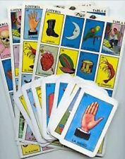 Loteria JUMBO CARD Don Clemente 10 Large Boards 54 Cards Mexican Bingo Game