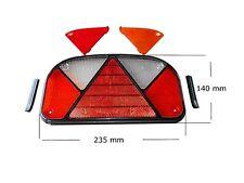 Aspöck Multipoint 2 II Rückleuchte Ersatzglas Lichtscheibe Links / Rechts