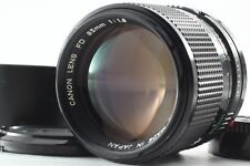 【EXC++++】Canon New FD 85mm f/1.8 NFD Manual MF Lens From japan #093001